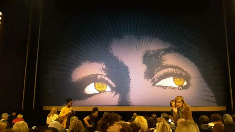 Seating view for Lunt-Fontanne Theatre Section Orchestra C Row M Seat 106