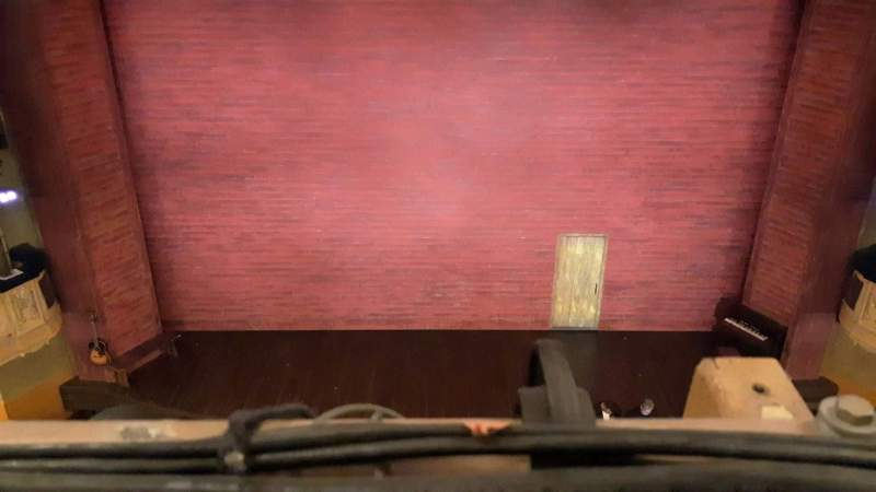 Seating view for Shubert Theatre Section Balcony C Row A Seat 107