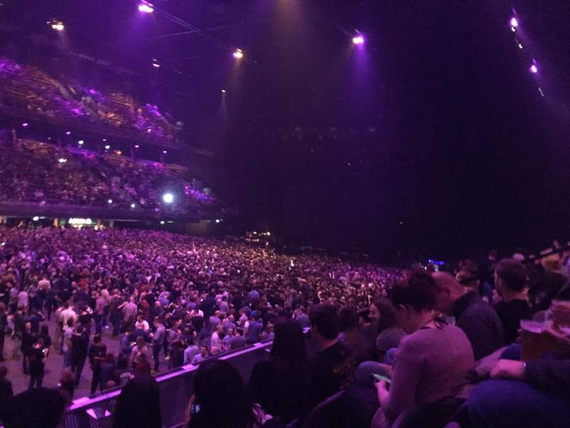 Seating view for Ziggo Dome Section 104 Row 5 Seat 117