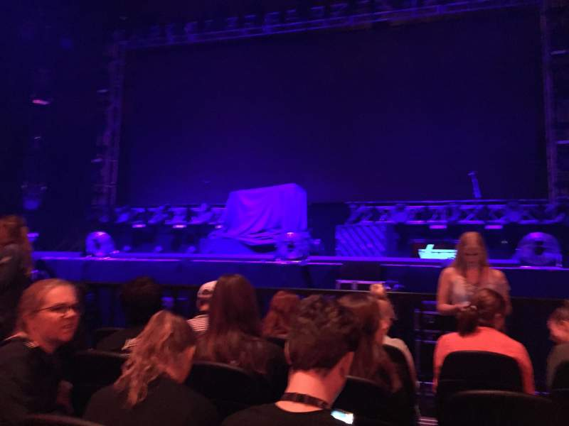 Seating view for Afas Live Section Black Box Row 5 Seat 26