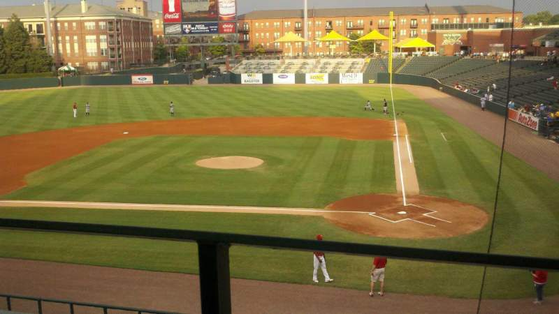 Seating view for Autozone Park Section 206 Row A Seat 3