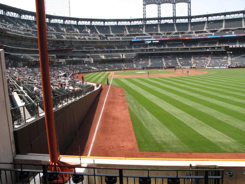 Seating view for Citi Field Section 103 Row 3 Seat 4