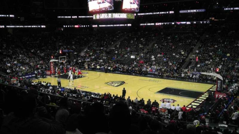 Seating view for Prudential Center Section 10 Row 22 Seat 9