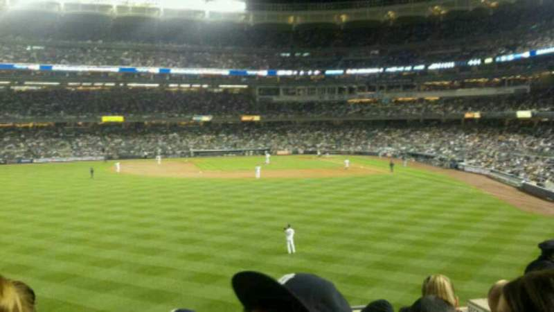 Seating view for Yankee Stadium Section 236 Row 9 Seat 8