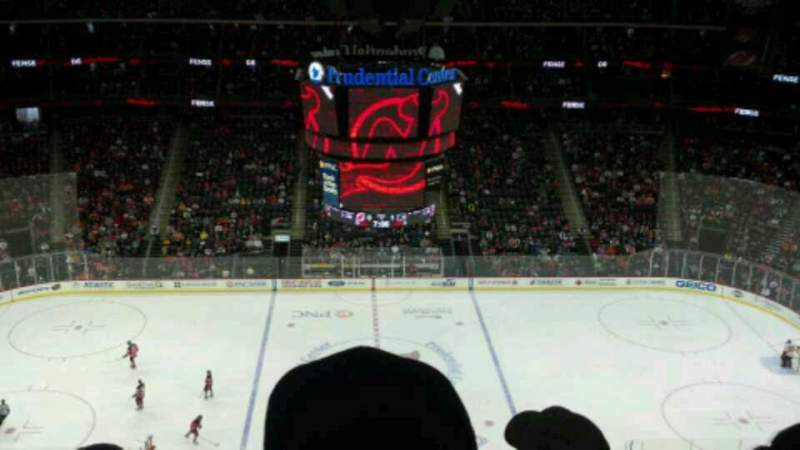 Seating view for Prudential Center Section 212 Row 4 Seat 21
