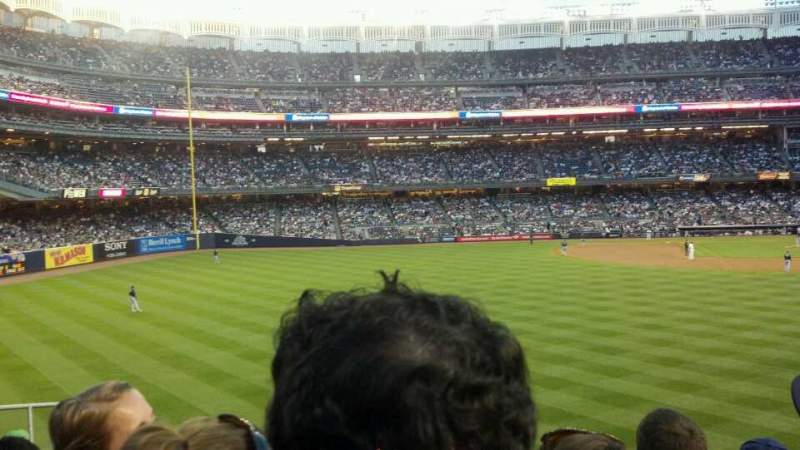 Seating view for Yankee Stadium Section 239 Row 9 Seat 10