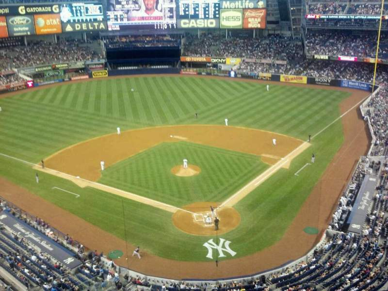 Seating view for Yankee Stadium Section 420C Row 1 Seat 6