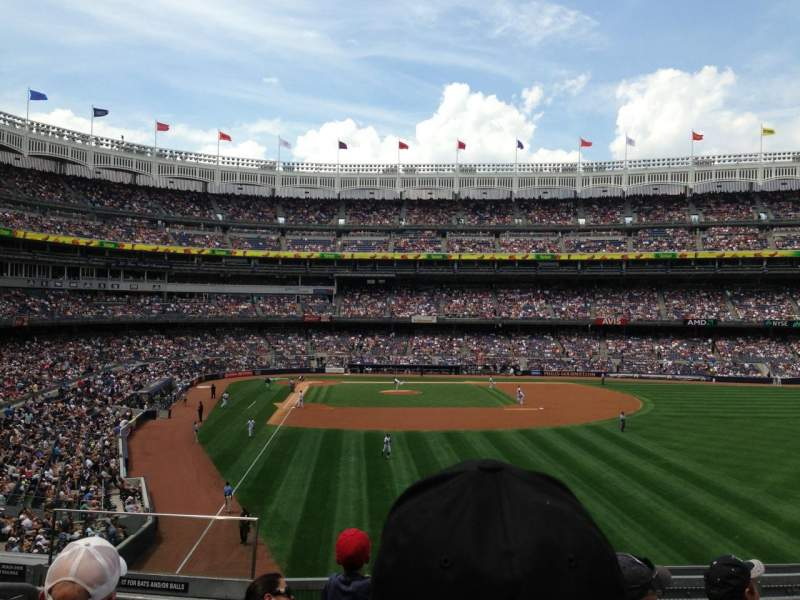 Seating view for Yankee Stadium Section 206 Row 5 Seat 14