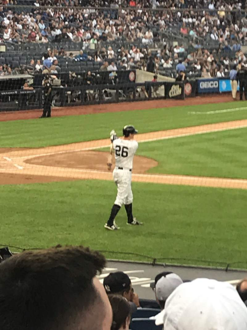 Seating view for Yankee Stadium Section 116 Row 4 Seat 3