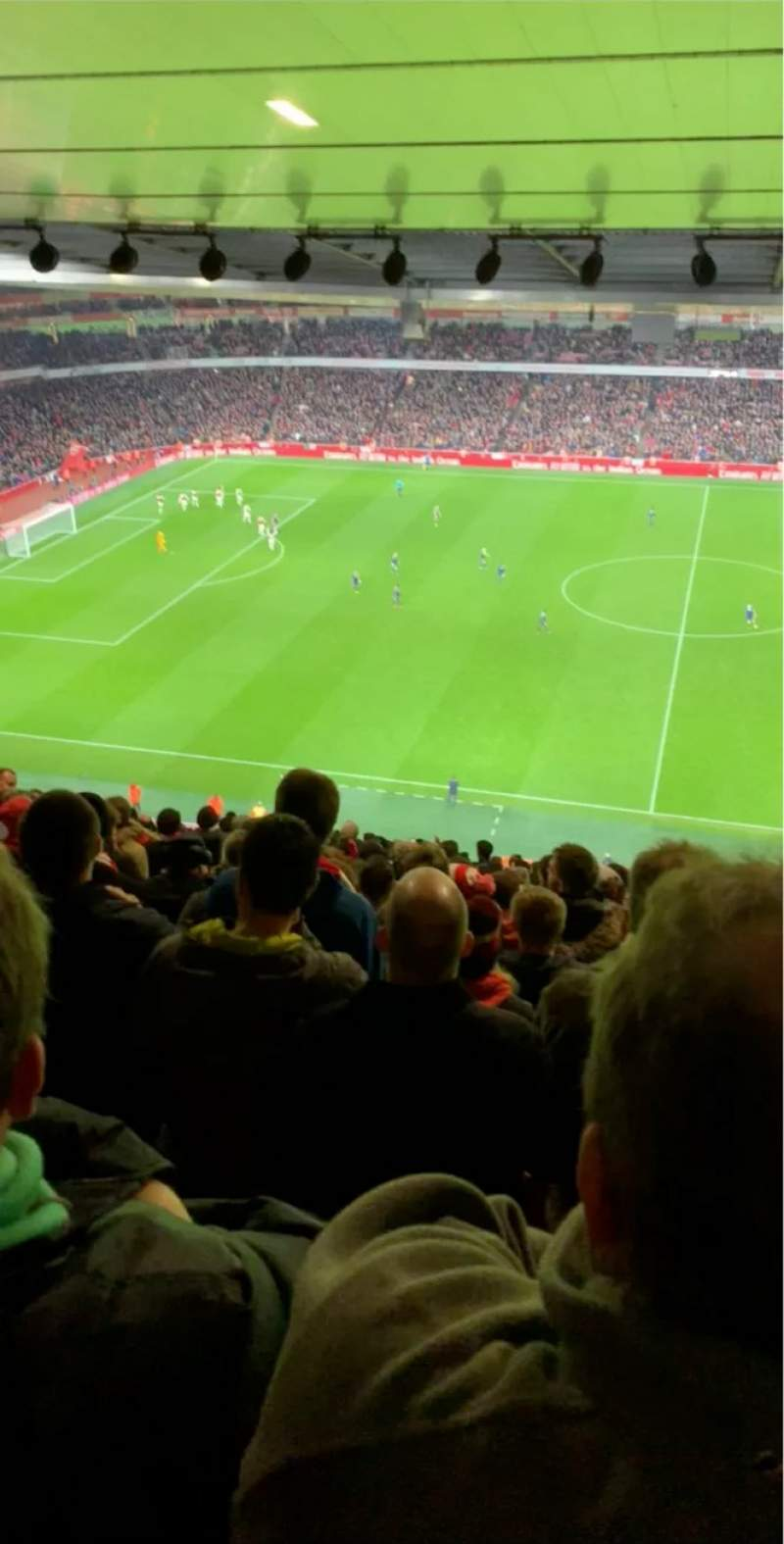 Seating view for Emirates Stadium Section 134 Row 25 Seat 1208