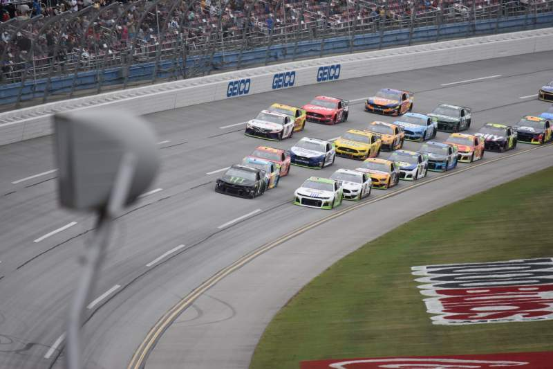 Seating view for Talladega Superspeedway Section Birmingham Tower A Row 34 Seat 2