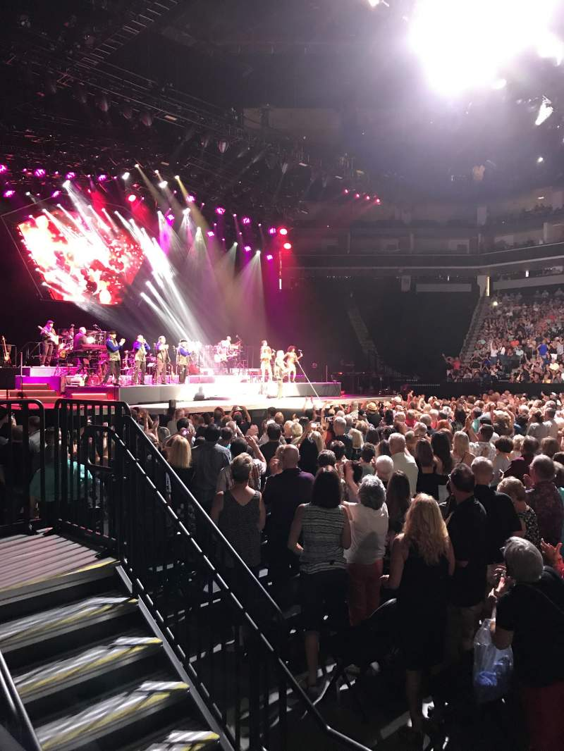 Golden 1 Center, section: 120, row: AA, seat: 6,7