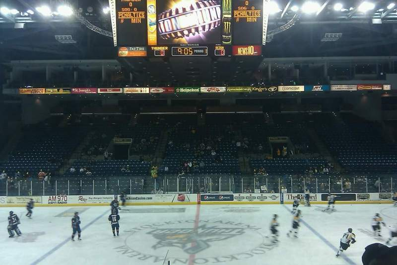 Seating view for Stockton Arena Section 122 Row 11 Seat 11
