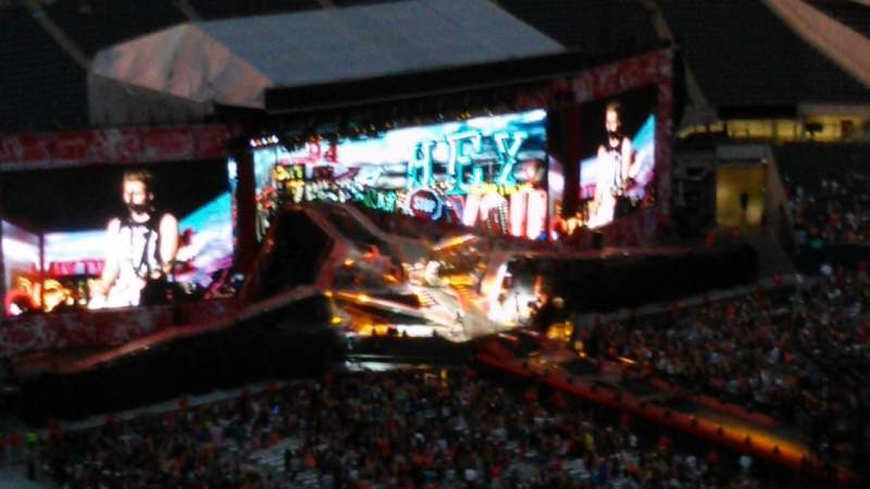 Soldier field, section: 432, row: 34, seat: 22