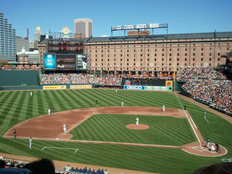 Seating view for Oriole Park at Camden Yards Section 246 Row 4 Seat 2
