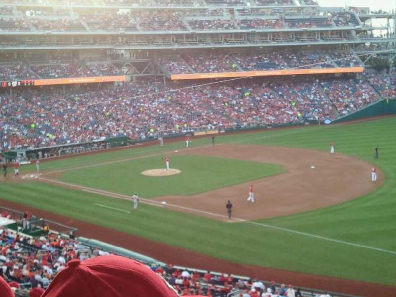 Seating view for Nationals Park Section 225 Row L Seat 3
