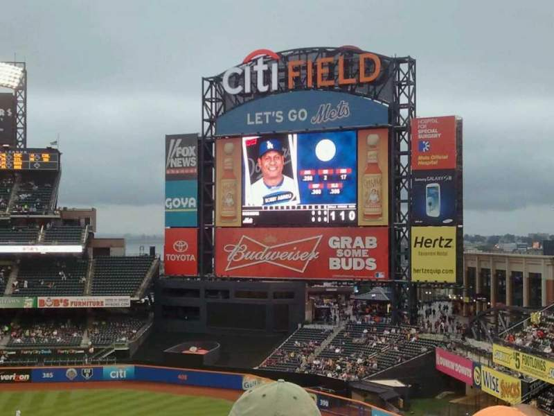 Seating view for Citi Field Section 404 Row 2 Seat 2