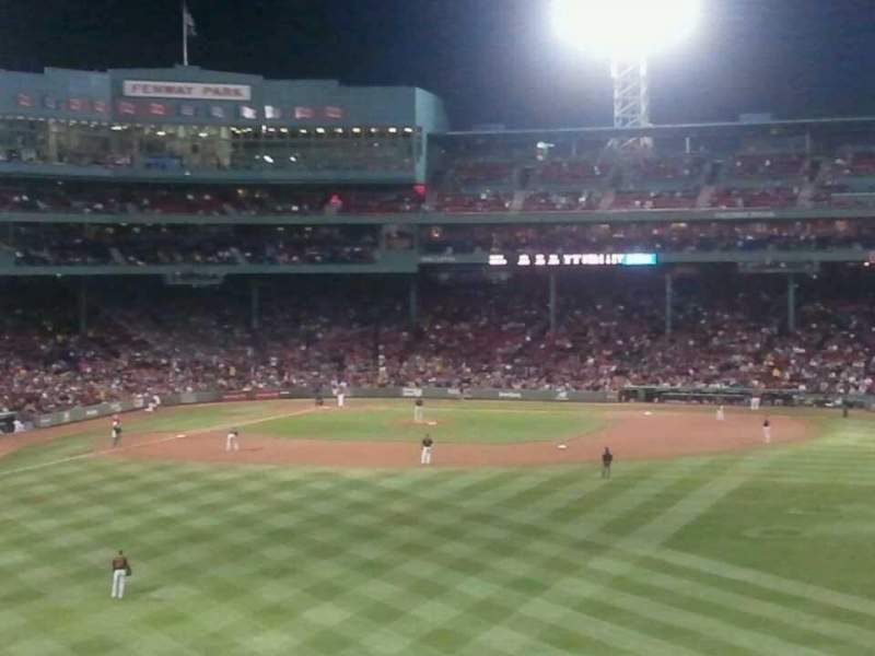 Seating view for Fenway Park Section Bleacher 41 Row 45 Seat 17