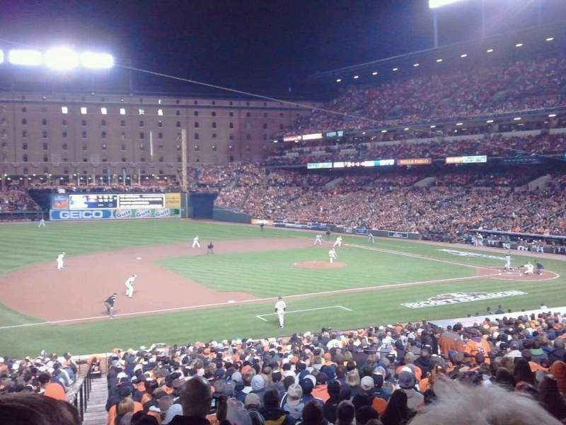 Seating view for Oriole Park at Camden Yards Section 55 Row 2 Seat 12