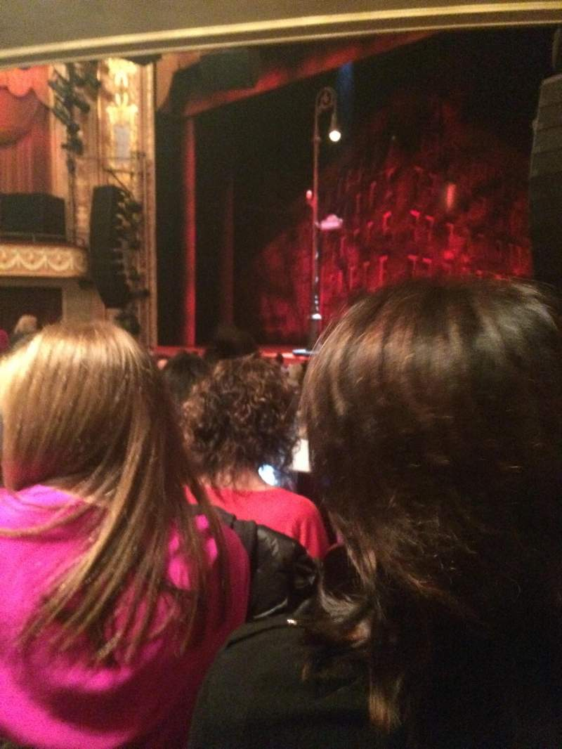 Seating view for Longacre Theatre Section Orchestra R Row O Seat 17