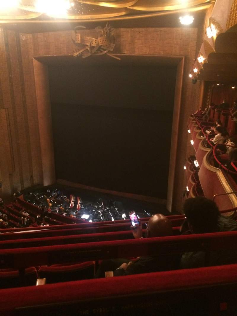 Seating view for Metropolitan Opera House - Lincoln Center Section Balcony Row D Seat 28