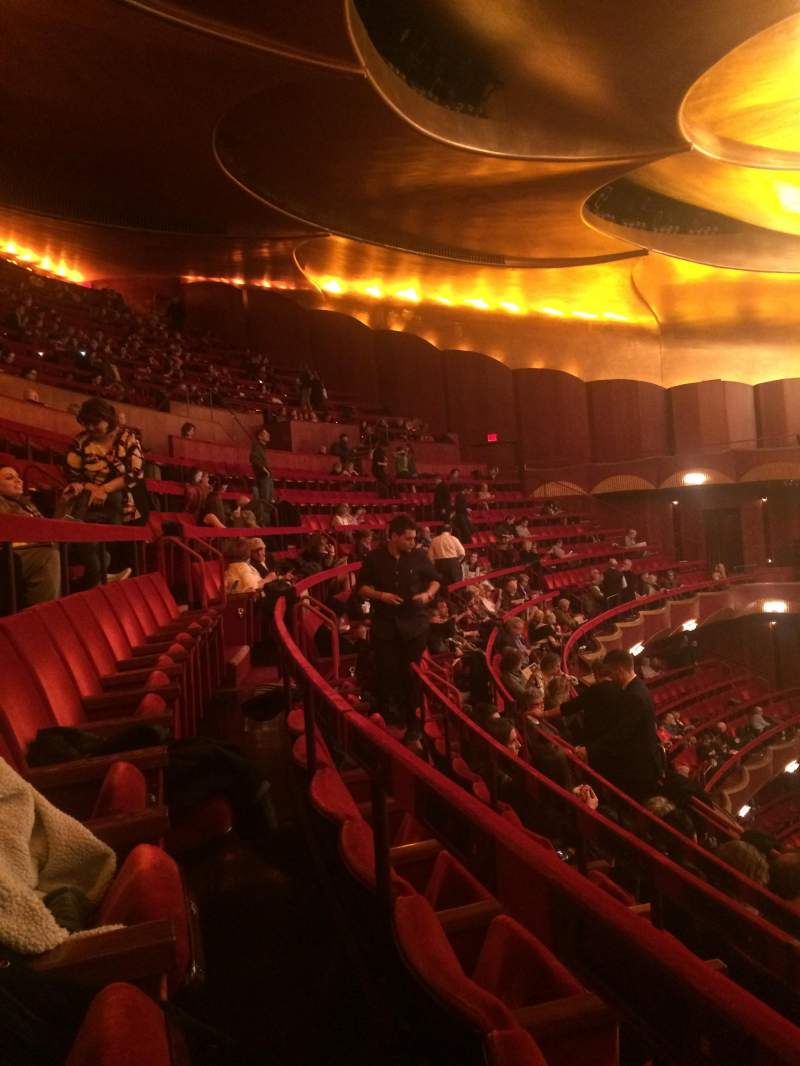 Seating view for Metropolitan Opera House - Lincoln Center Section Blacony Row D Seat 28