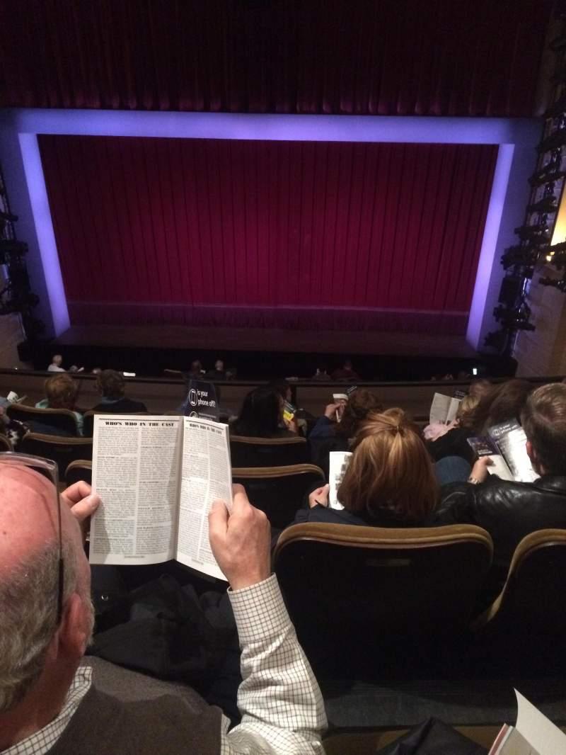 Seating view for Samuel J. Friedman Theatre Section Mezzanine C Row D Seat 113