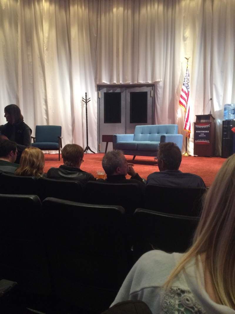 Seating view for New World Stages - Stage 5 Section Orchestra Row D Seat 13