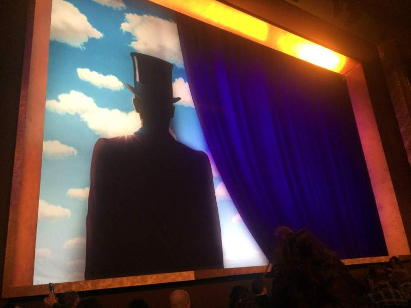 Lunt-Fontanne Theatre, section: ORCH, row: J, seat: 9
