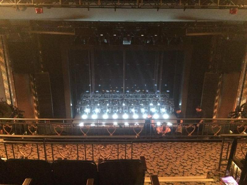 Seating view for Lunt-Fontanne Theatre Section Rear Mezzanine LC Row D Seat 101