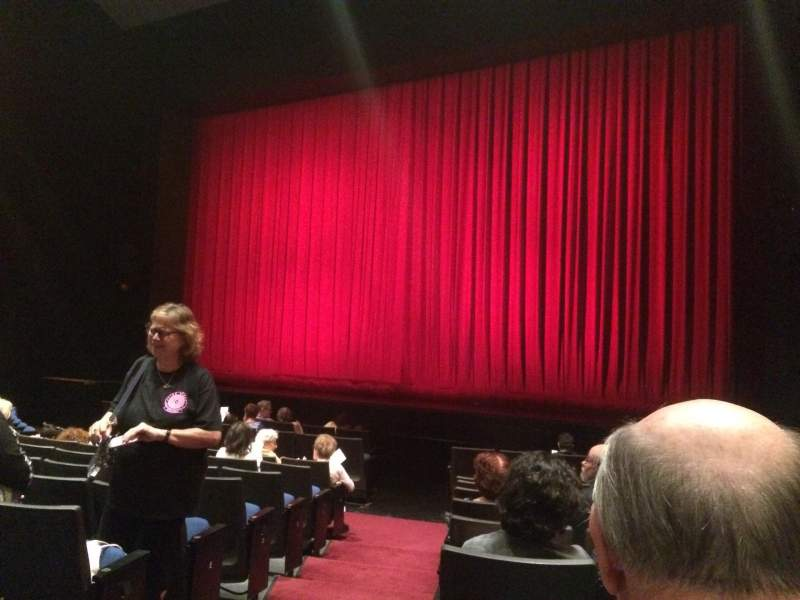 Seating view for Gerald W. Lynch Theater Section Orch Right Row J Seat 2