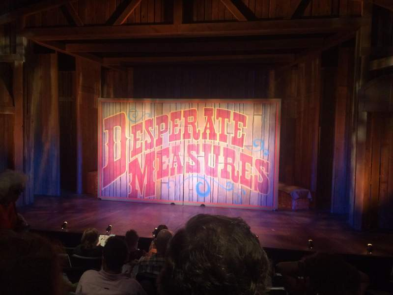 Seating view for New World Stages - Stage 4 Section Orch Row H Seat 110