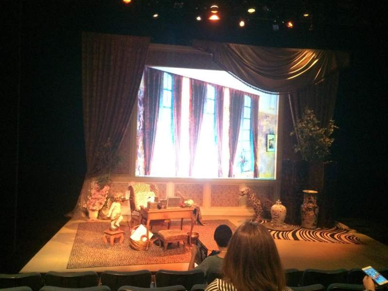 Seating view for Theatre at St. Clement's Section Orch Row E Seat 11