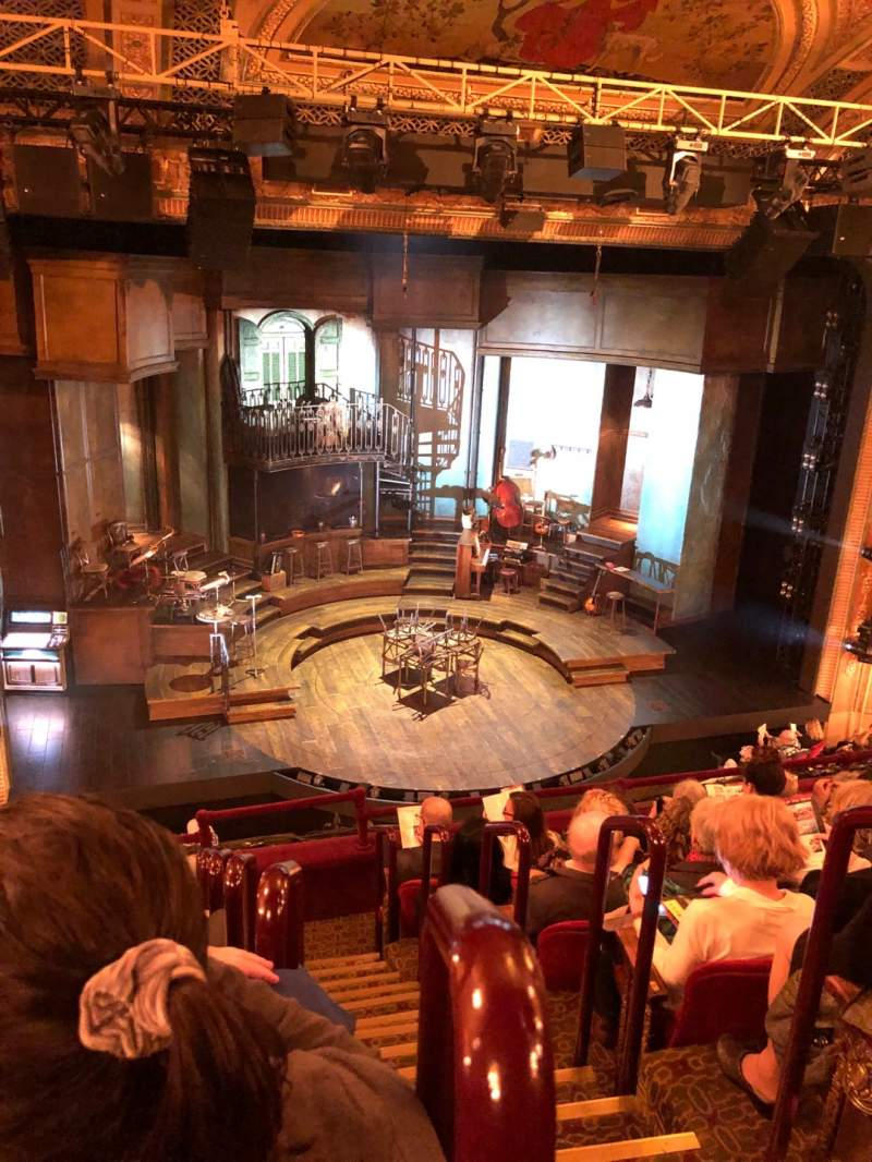 Seating view for Walter Kerr Theatre Section Mezz Row G Seat 1