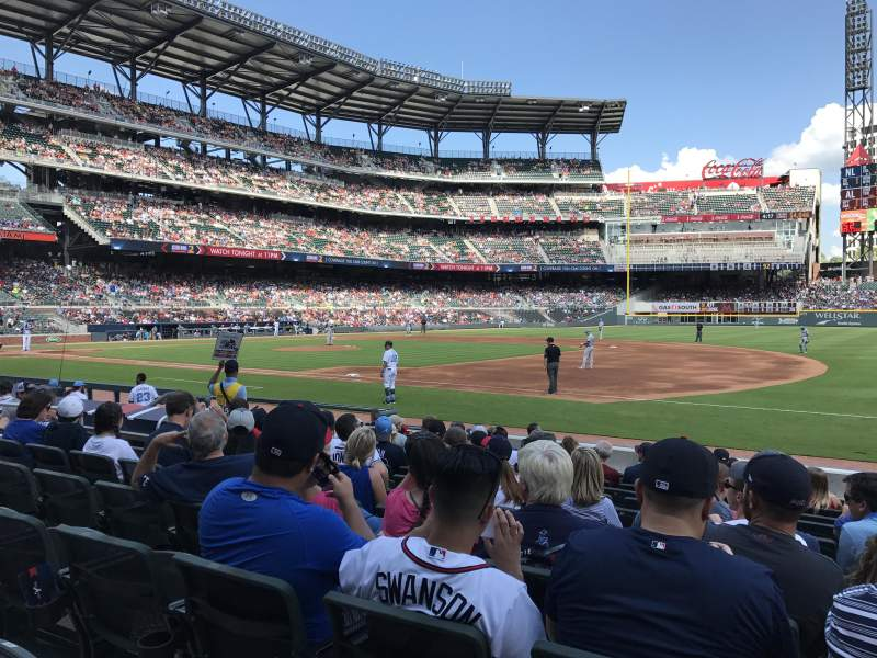 SunTrust Park, section: 16, row: 12, seat: 1