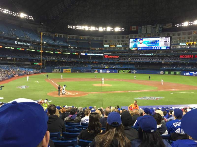 Seating view for Rogers Centre Section 119L Row 24