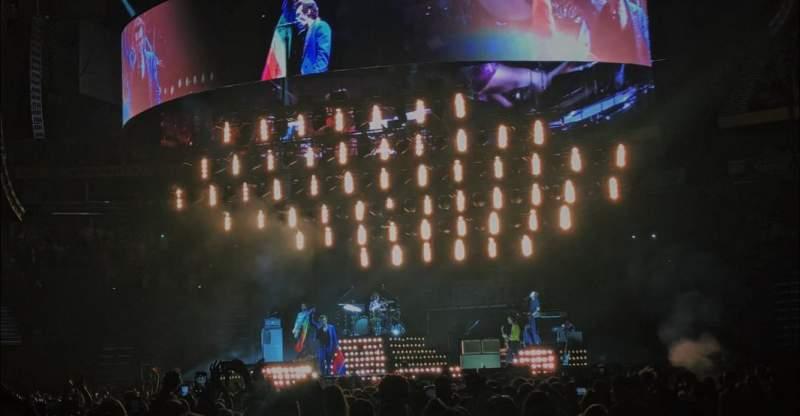 Bridgestone Arena, section: 105, row: AA, seat: 11