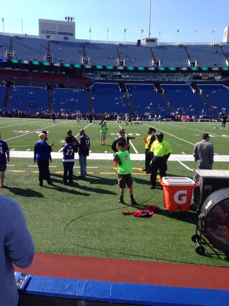 New Era Field, section: 113, row: 5, seat: 7