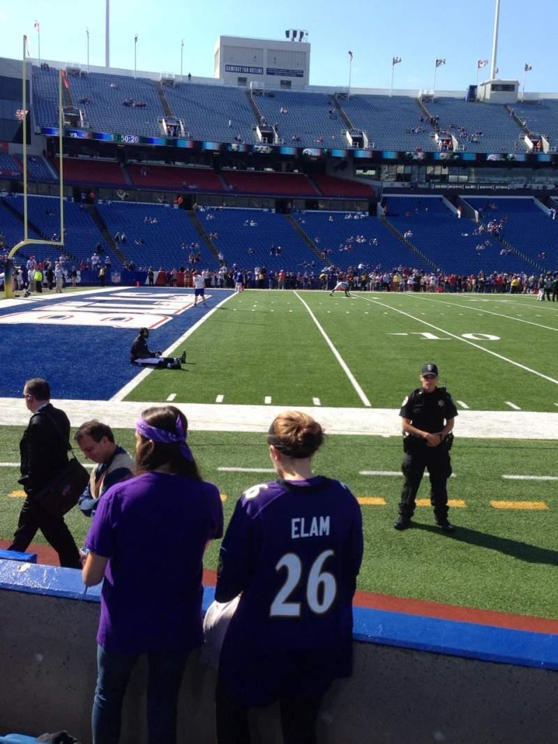 New Era Field, section: 115, row: 5, seat: 3
