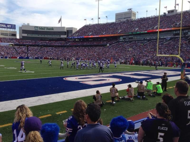 New Era Field, section: 103, row: 3, seat: 7