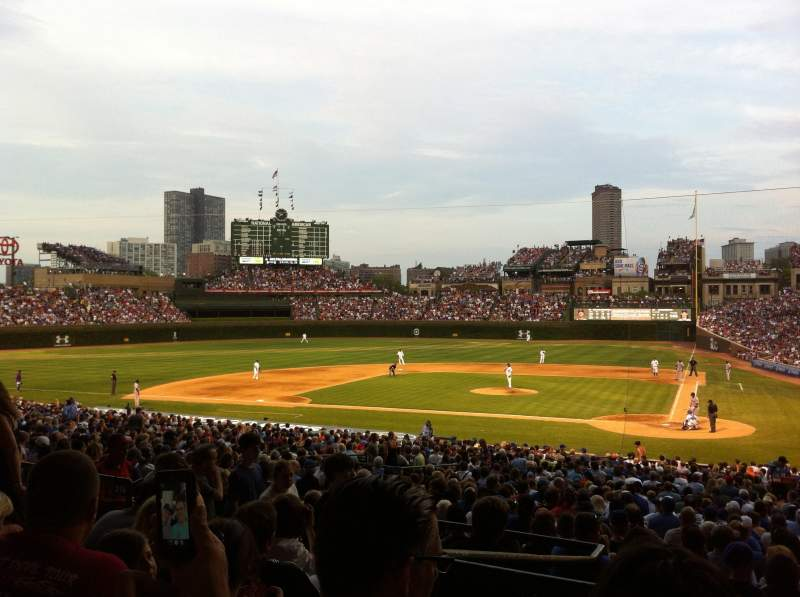 Seating view for Wrigley Field Section 216 Row 6 Seat 6