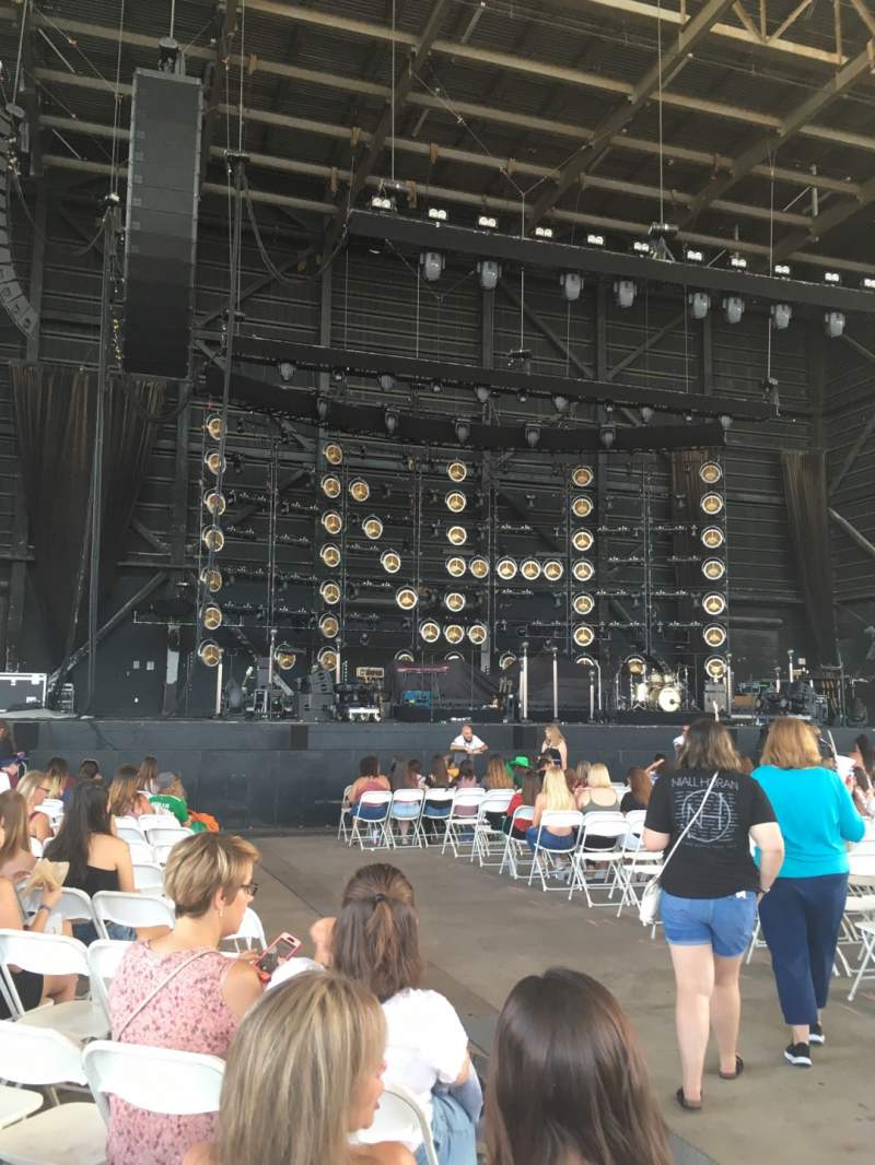 Seating view for MidFlorida Credit Union Amphitheatre Section 5 Row A Seat 7