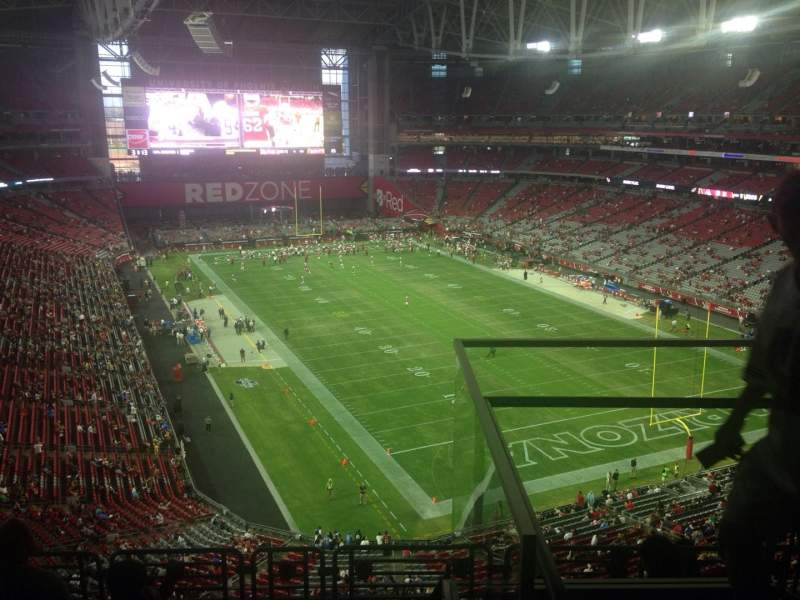 Seating view for State Farm Stadium Section 433 Row 2 Seat 1