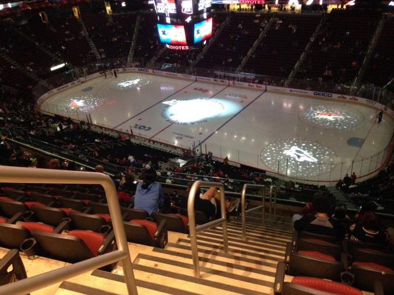 Seating view for Gila River Arena Section 227 Row J Seat 1