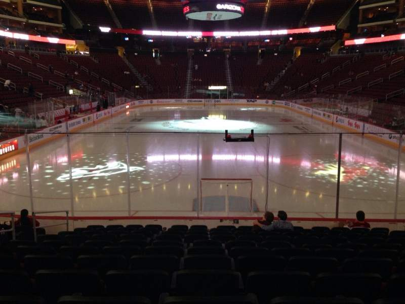 Seating view for Gila River Arena Section 117 Row L Seat 9