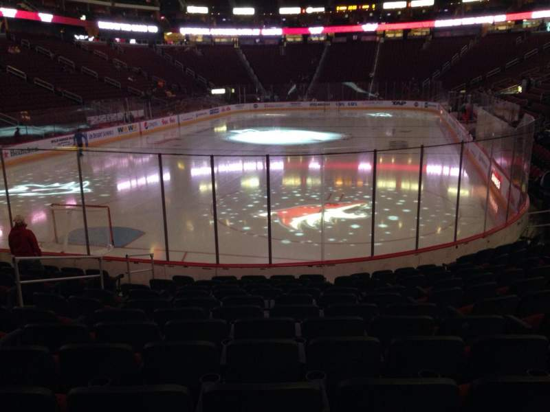 Seating view for Gila River Arena Section 105 Row L Seat 9
