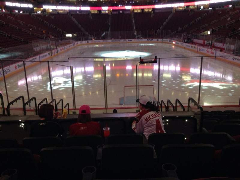 Seating view for Gila River Arena Section 107 Row L Seat 9