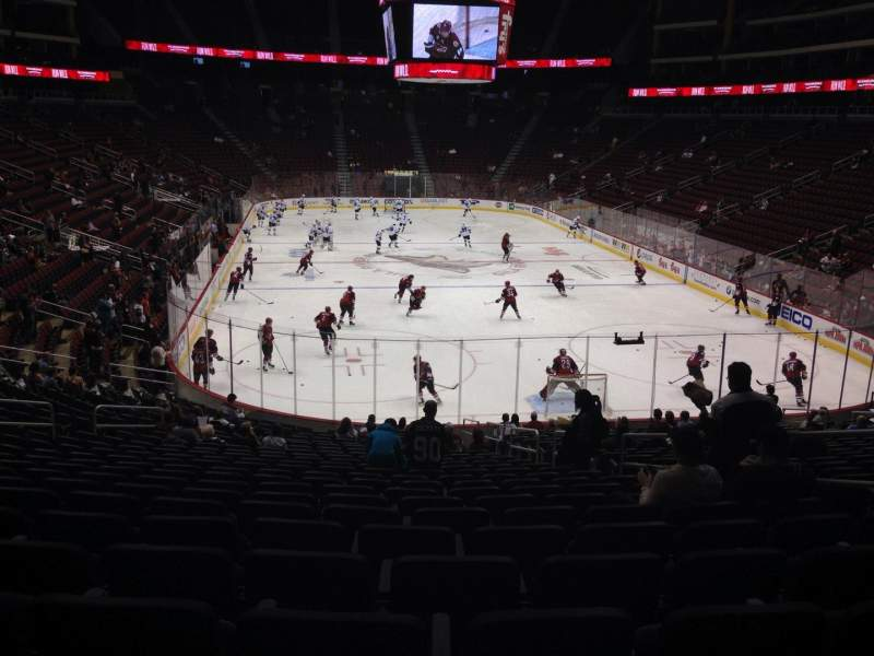Gila River Arena, section: 118, row: T, seat: 5