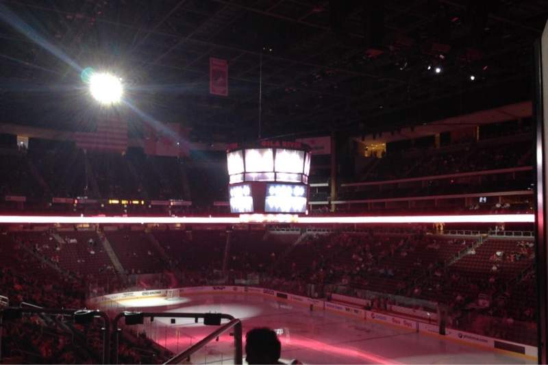Seating view for Gila River Arena Section 224 Row J Seat 19