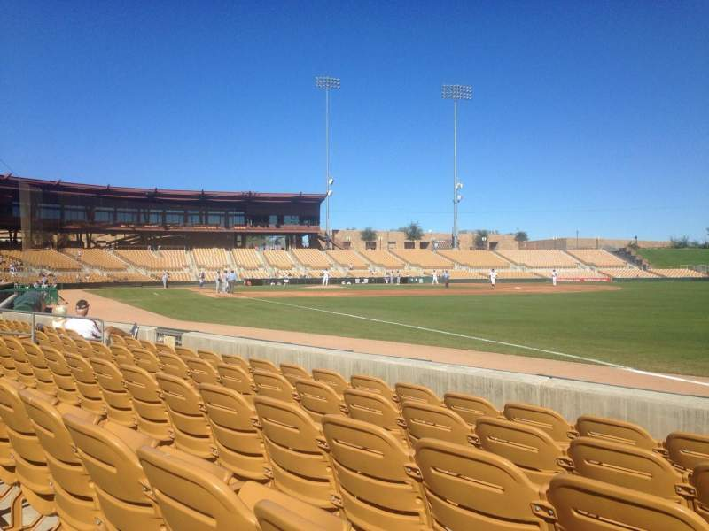 Seating view for Camelback Ranch Section 2 Row 5 Seat 1